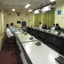 This is a Meeting with International Institution photo.